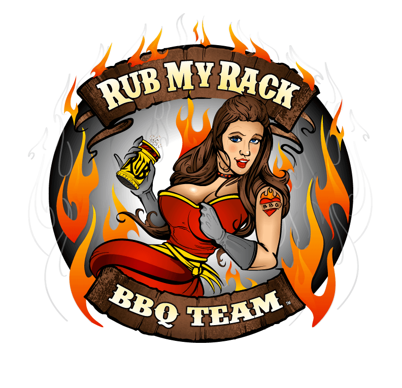 Rub My Rack Circle Logo