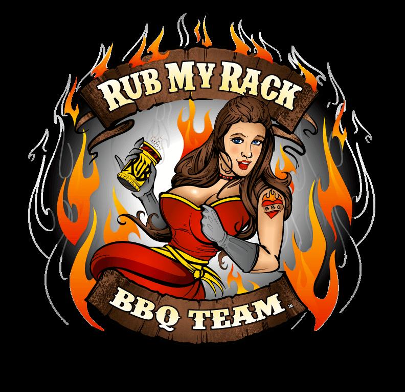 Rub My Rack Circle Logo